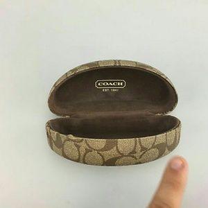 Coach sunglasses case